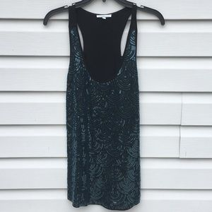 Sequined Charlotte Russe top